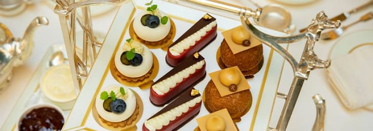 Get a 3 Course Lunch from £93 at The Ritz - Including The Ritz Cookbook!