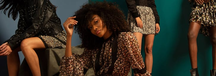 Shop Dresses, Tops & More for up to 50% Off at Topshop
