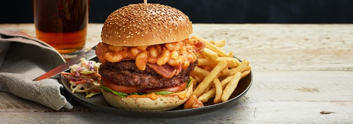 Enjoy 2 Mains for Only £8.99 with Brewers Fayre at Whitbread Inns