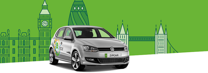 1-Hour Car Hires Start from Only £6 at Zipcar
