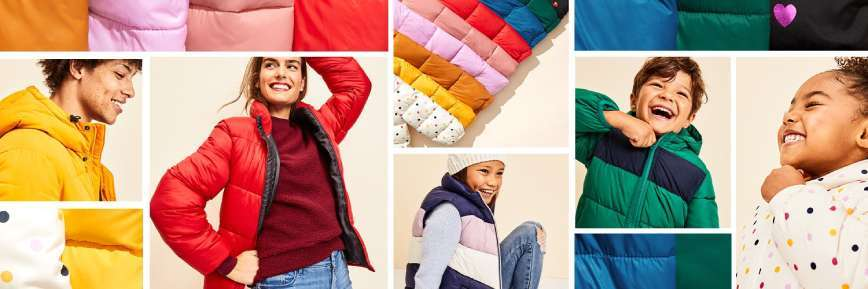 Old Navy - Up to 50% off