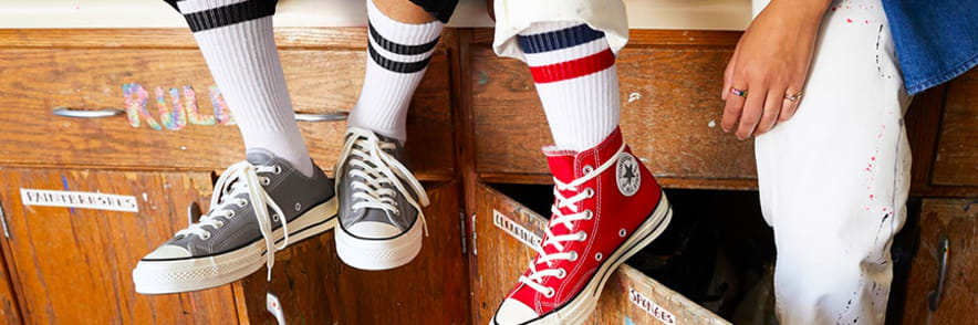 Receive up to 55% Off New to Sale Sneakers at Converse