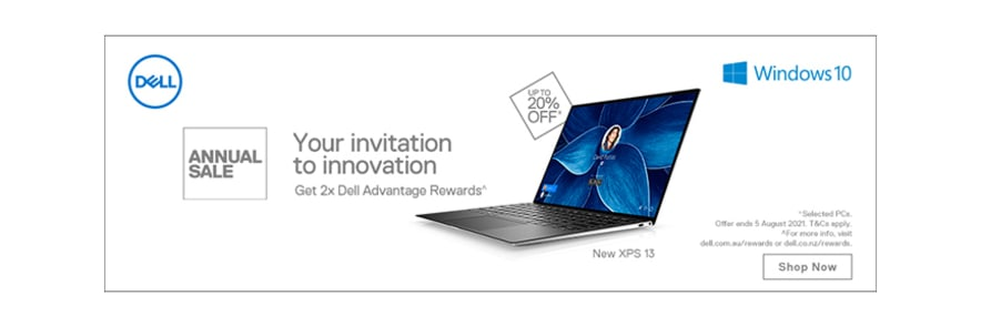🤑 Up to 20% Off Selected Dell Laptops + 2x Advantage Rewards