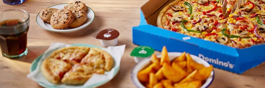 30% Discount on Pizza When You Spend €30 at Domino's Pizza