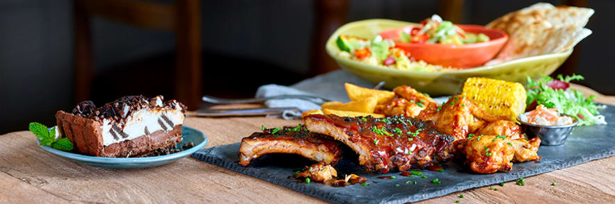 Book Online Today at Harvester
