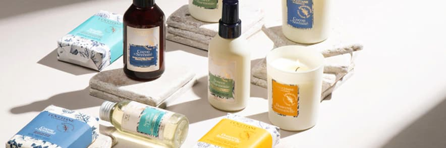 Spend Over €60 and Receive a Free Relaxing Lavender Collection at L'Occitane