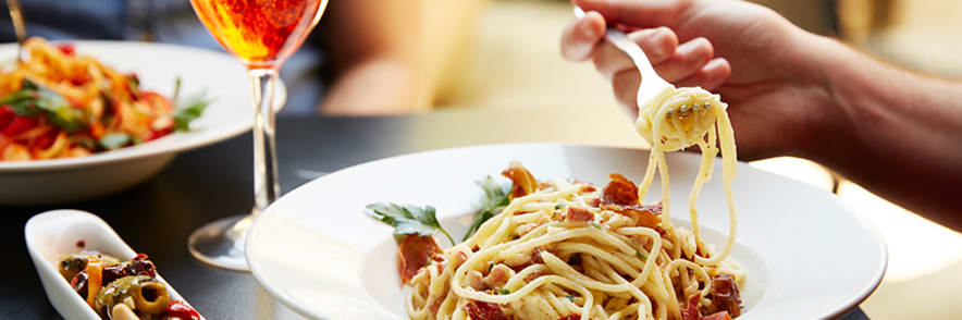 2 for 1 on Starters, Mains & Desserts at Prezzo