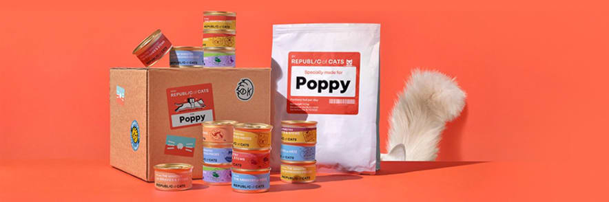 Just £2.50 for First Two Week Taster Box Orders at Republic of Cats