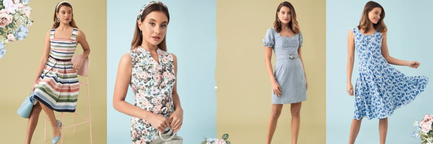 Women's Clothing Sale of 50% Off or More at Review