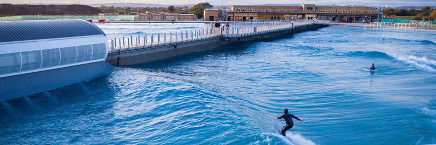 Enjoy Beginner Surf Lessons from £50 at The Wave