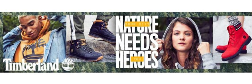 Up To 25% Off Timberlands at Journeys